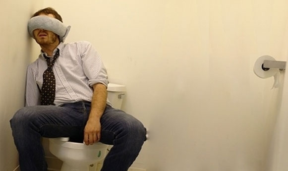 nap in the loo!